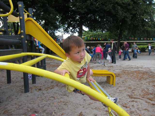 Aldus on the playground